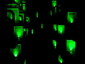 Green Voice - An audio-architectural installation by Bernhard Gal & Yumi Kori   (Photo: Yumi Kori)