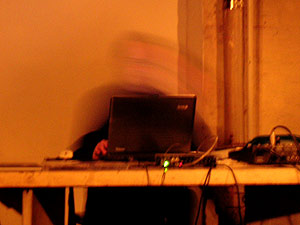 Gal live at Experimental Intermedia, New York City.